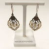 Nicole Fendel Jewellery - Hammered Electra Earring in Soft Gold