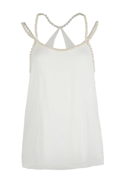 Trelise Cooper - A Pearl Of A Girl Top in Ivory