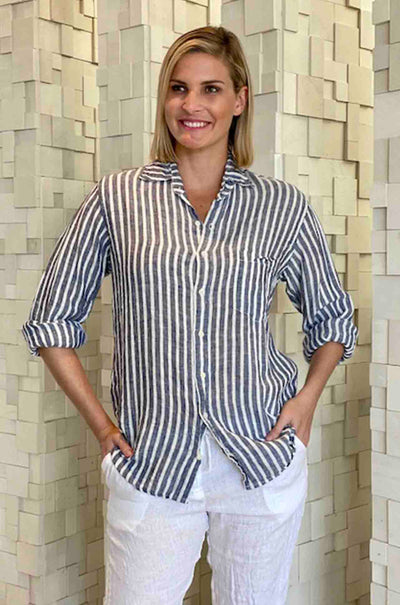 CP_Shades_Jack_Boyfriend_Shirt_Blouse_Top_Navy_White_Stripe_www.zambezee.com.au