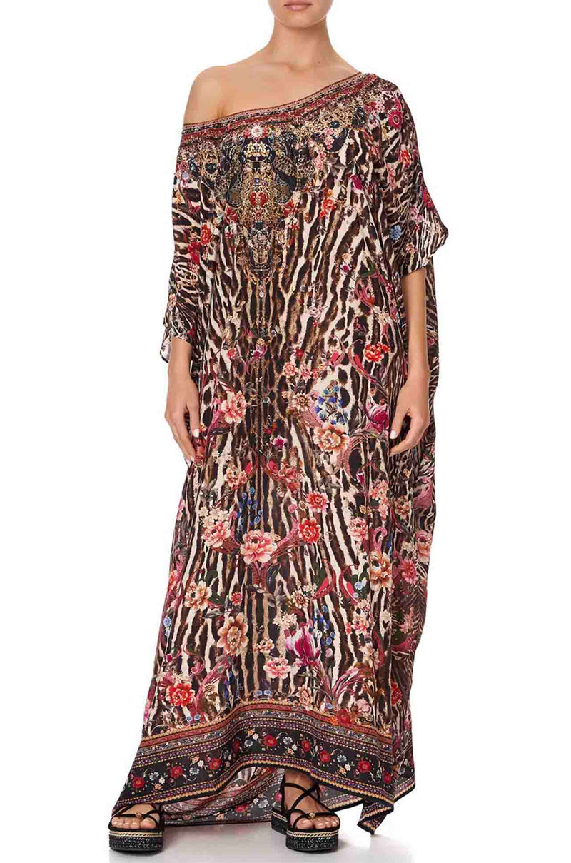 Camilla - Liv A Little Round Neck Kaftan