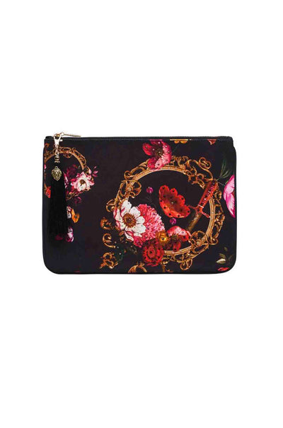 Camilla - Mirror Mirror Small Canvas Clutch