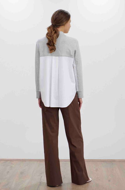 Mela Purdie - Shirt Sweater in Interlayers