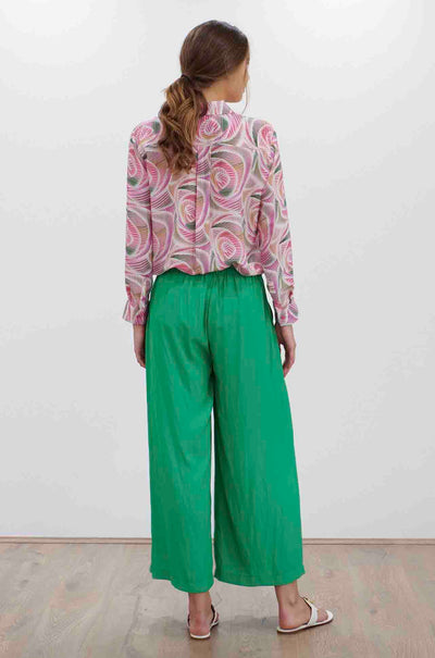 Mela Purdie - Soft Shirt in Fizz Print Silk CDC