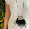 Salita Matthews - Mini Maya Flyer Necklace in Black