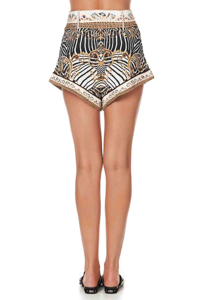 Camilla - Night Waiting For Day Tie Detail High Cut Shorts
