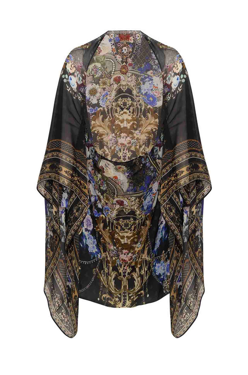Camilla - Palace Playhouse Silk Shrug