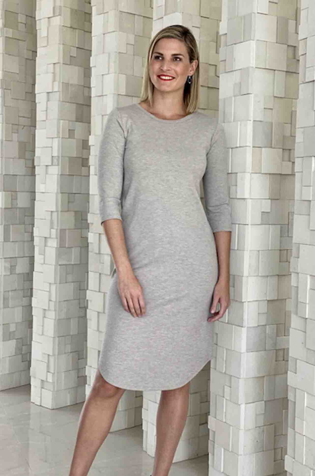 Mela Purdie - Pavillion Dress in Compact Knit