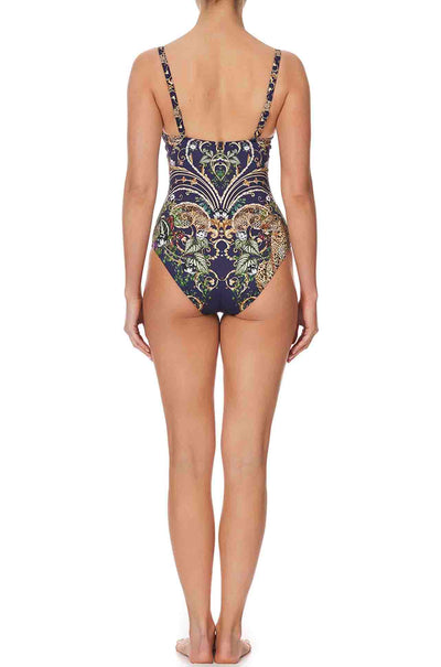 Camilla - Seven Day Weekend Plunge Cup One Piece With Trim