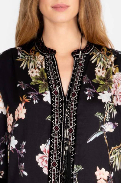 Johnny_Was_Top_Velvet_Mix_Paris_Effortless_Blouse_Print B_www.zambezee.com.au