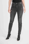 Joseph Ribkoff - Sequin Patch Jean