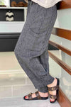 Mara_Gibbucci_Side_Pocket_Pant_Bottoms_Stripe_Linen_www.zambezee.com.au
