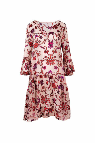 Trelise Cooper - Pink Floral Baby Cakes Dress
