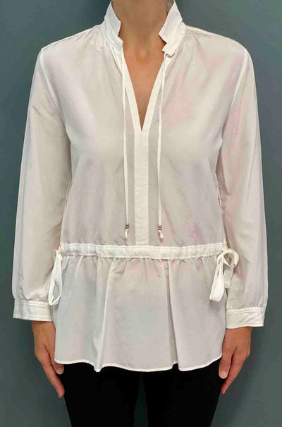 Marc Cain - Tie Front Long Sl Blouse
