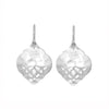 Nicole Fendel Jewellery - Zelda Large Earrings in Silver