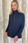 Mela_Purdie_Zip_Tour_Sweater_Top_Jumper_Black_Sapphire_Marl_Navy_www.zambezee.com.au
