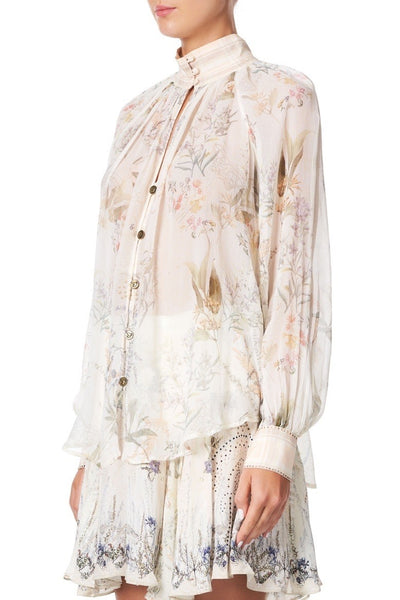 Camilla - Gumnut Gathering Raglan Button Up Shirt