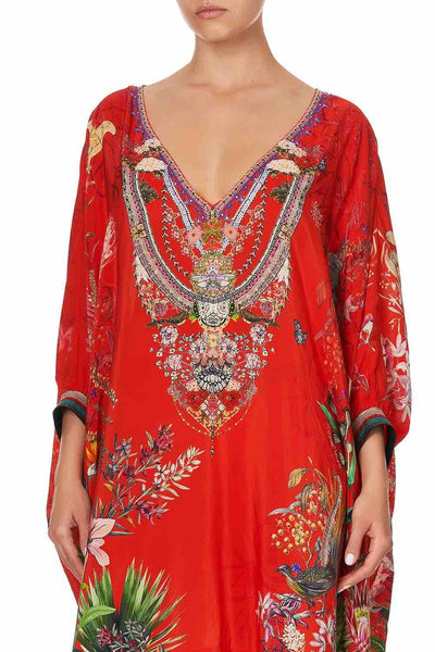 Camilla - Faraway Tree Short Kaftan with Cuff