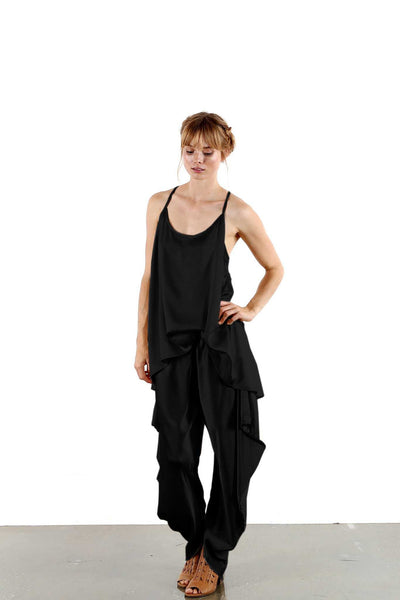 Lisa Brown - Charlie Strappy Tbar Top