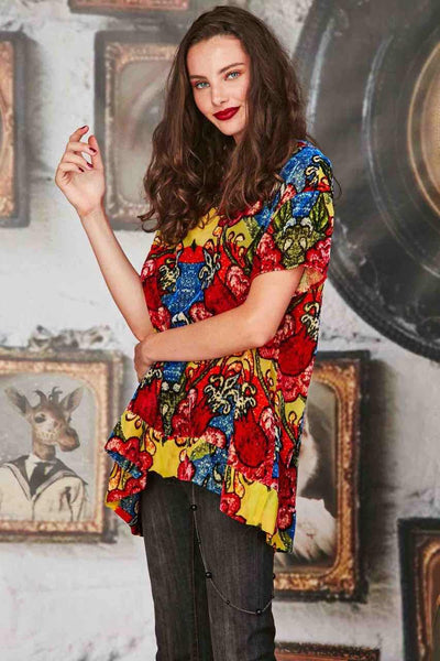 Curate - Floral Mood Swing Top