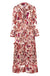 Trelise Cooper - Pink Floral Frill The End Of Time Dress