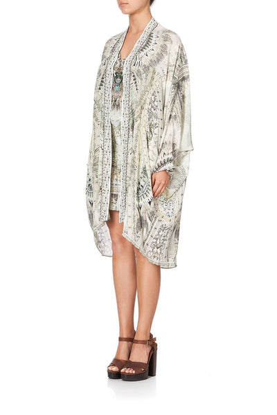 Camilla - Daintree Dreaming High Low Hem Casual Jacket