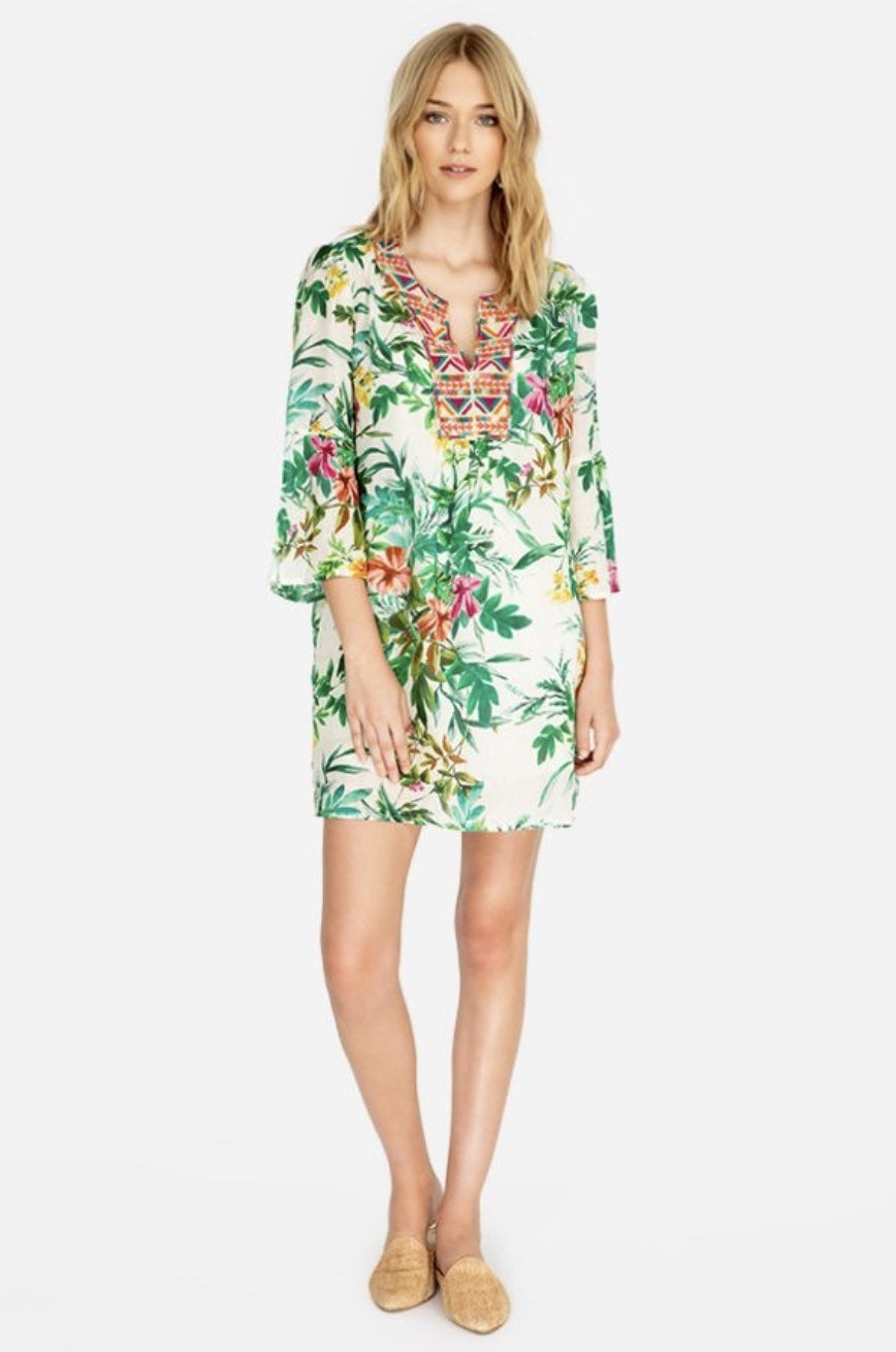 Johnny Was - Flare Slv Tunic Dress
