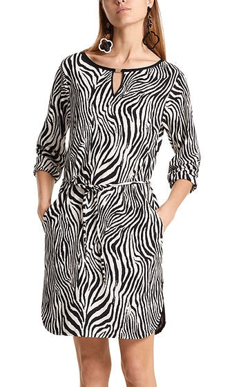 Marc Cain - Dress w/ Zebra Pattern