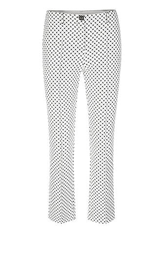 Marc Cain - Pants w/ Mini Graphics