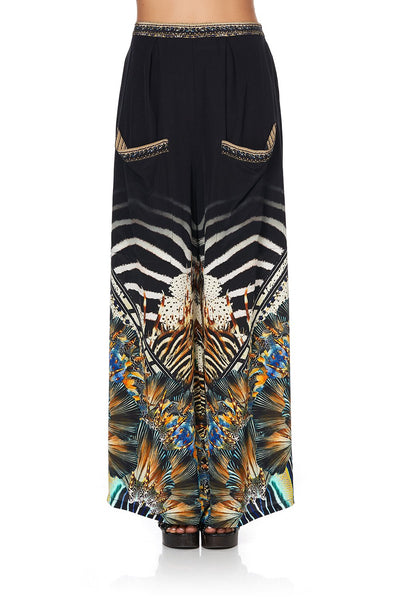 Camilla - Lost Paradise Wide Leg Trouser w/ Front Pockets