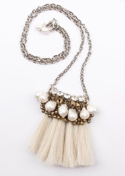 Salita Matthews - Mini Maya Necklace in Blonde
