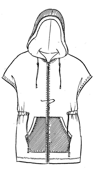 Paula Ryan - Hooded Vest