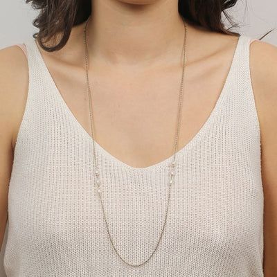 Nicole Fendel - Sterling Triple Pearl Necklace