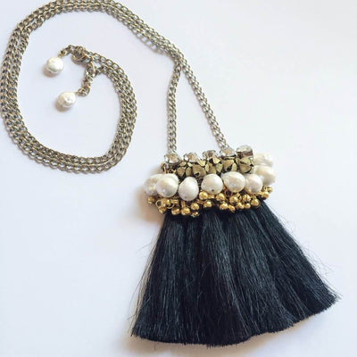 Salita Matthews - Mini Maya Necklace in Black