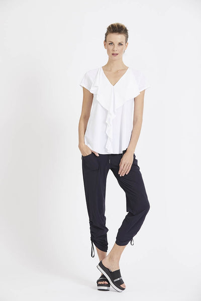 Paula Ryan - Cargo Pant with Drawstring Hem