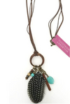 Mulberry Mongoose - Pocohantis Necklace