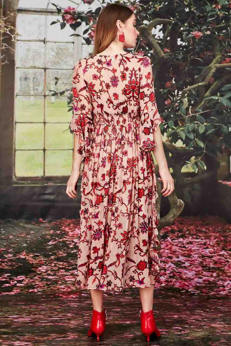 Trelise Cooper - Pink Floral Bare My Soul Dress