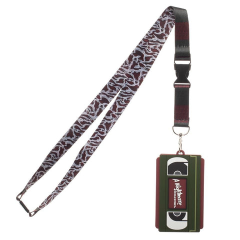 A Nightmare On Elm Street VHS Lanyard