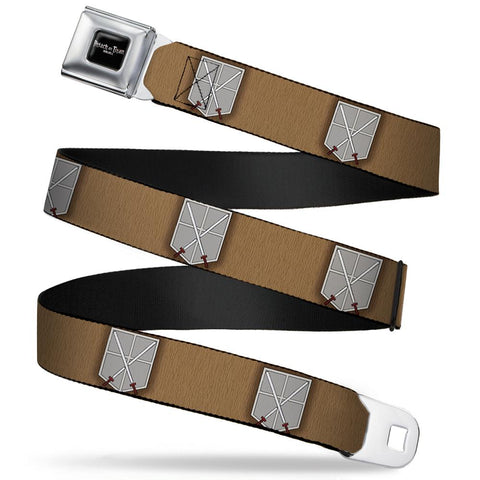 Attack On Titan Cadet Corp Logo Belt