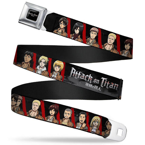 Attack On Titan Character Squares Belt