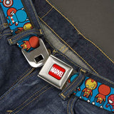 Avengers Blue Kawaii Belt