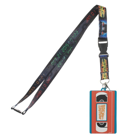 Back to the Future VHS Lanyard