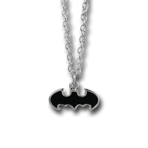 Batman Black Logo Necklace