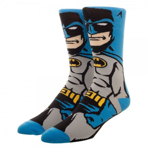 Batman Character Crew Socks
