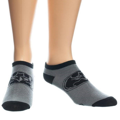 Batman Face Ankle Socks