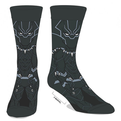 Black Panther Character Crew Socks
