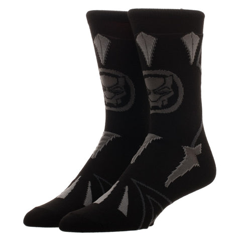 Black Panther Costume Crew Socks