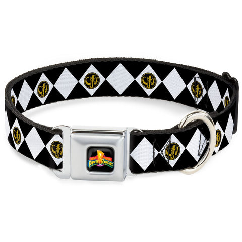 Power Rangers Black Ranger Dog Collar
