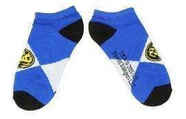 Power Rangers Blue Ranger Ankle Socks