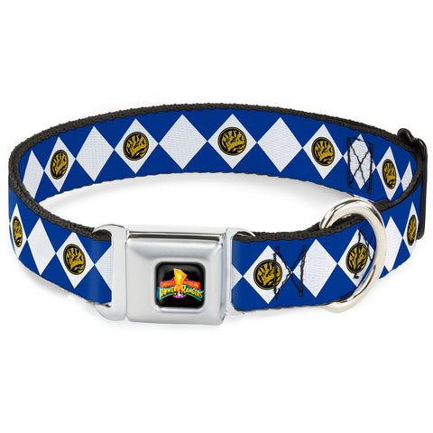 Power Rangers Blue Ranger Dog Collar
