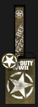 Call of Duty WWII Star Lanyard